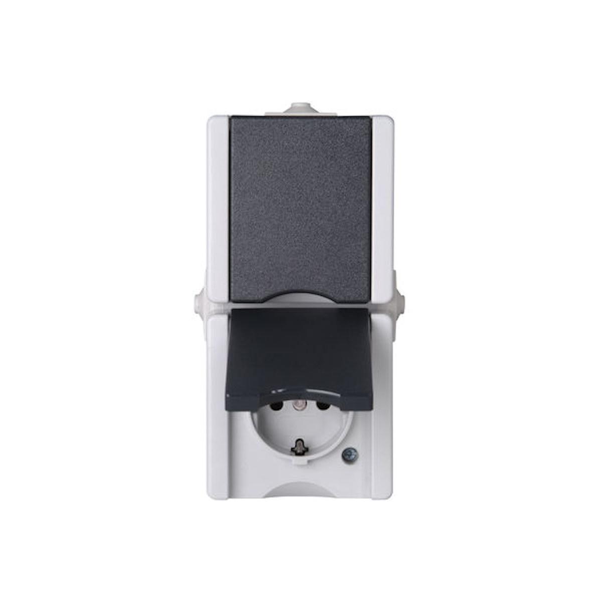 Kopp Feuchtraum Schalter Aufputz Serienschalter Serie proAQA