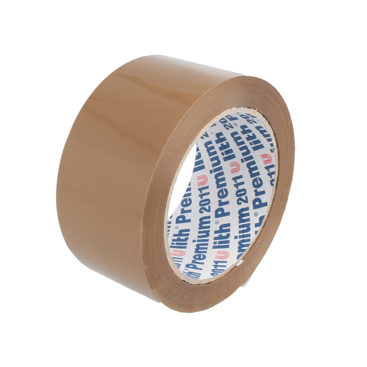 paketklebeband ulith-premium 2011, braun, 50 mm x 66 m, leise abrollb